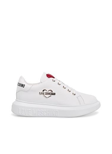 Love Moschino   Sneaker Ayakkabı Kadın Ayakkabı Ja15204G1Cıa0100 Beyaz